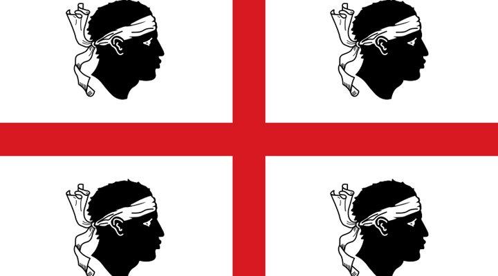 Quattro mori, la bandiera della Sardegna!