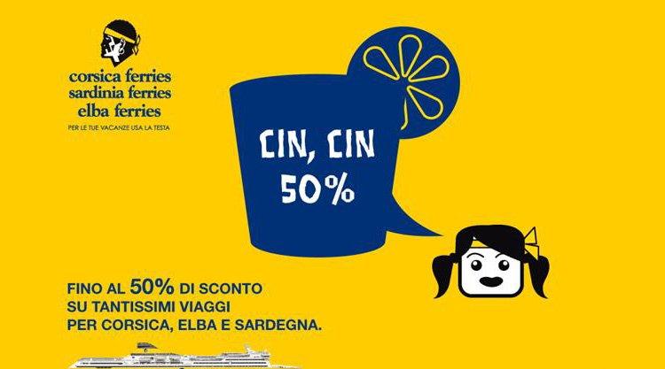 lancia la promozione: CIN, CIN 50%