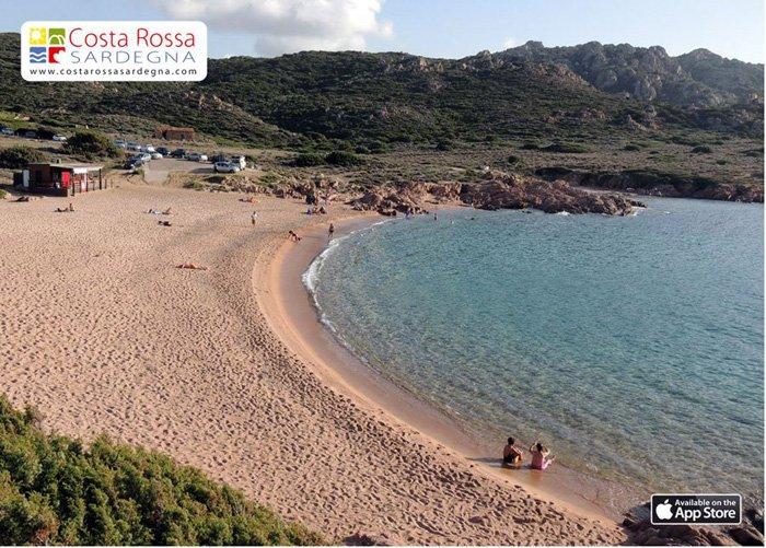 Costa Paradiso Sardegna Cartina Geografica.Spiagge Costa Paradiso E Costa Rossa Sardegna