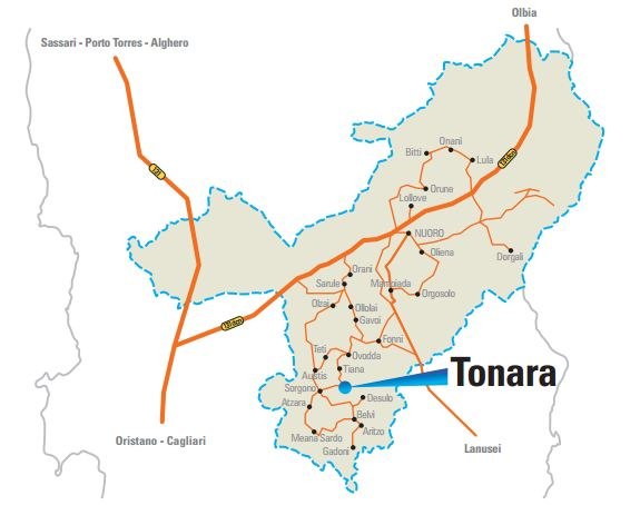 Cartina Sardegna Tonara.Autunno In Barbagia Tonara 2014 Programma