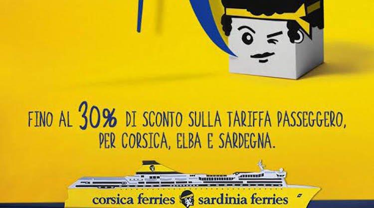 Sconti fino al 30 per la sardegna sulla sardinia ferries for Offerte budoni agosto