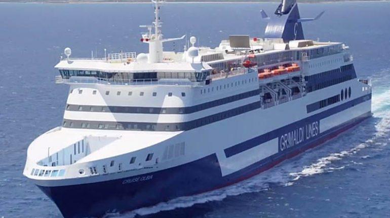 Grimaldi lines puntiamo a diventare la ryanair del mare for Nave sardegna