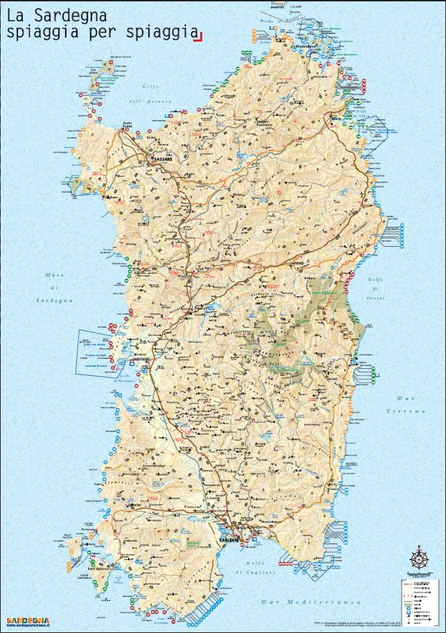 Cartina Della Sardegna Orientale Pieterduisenberg
